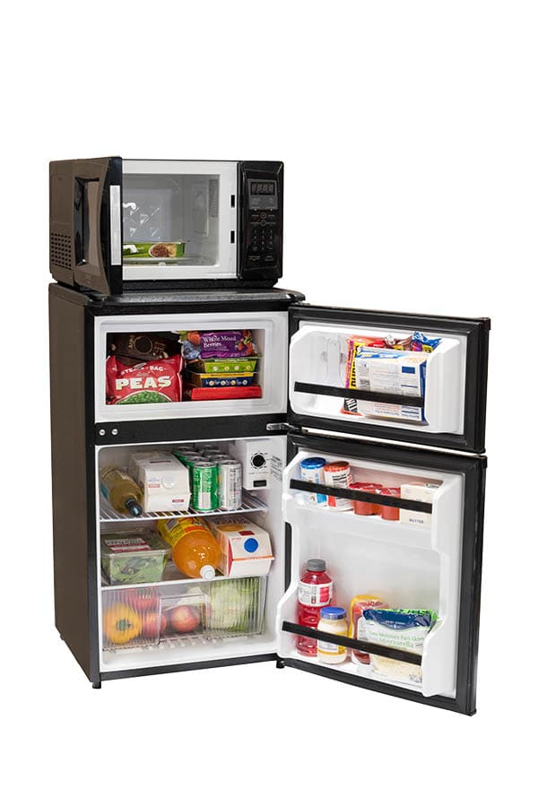 Combination Microwave Refrigerators