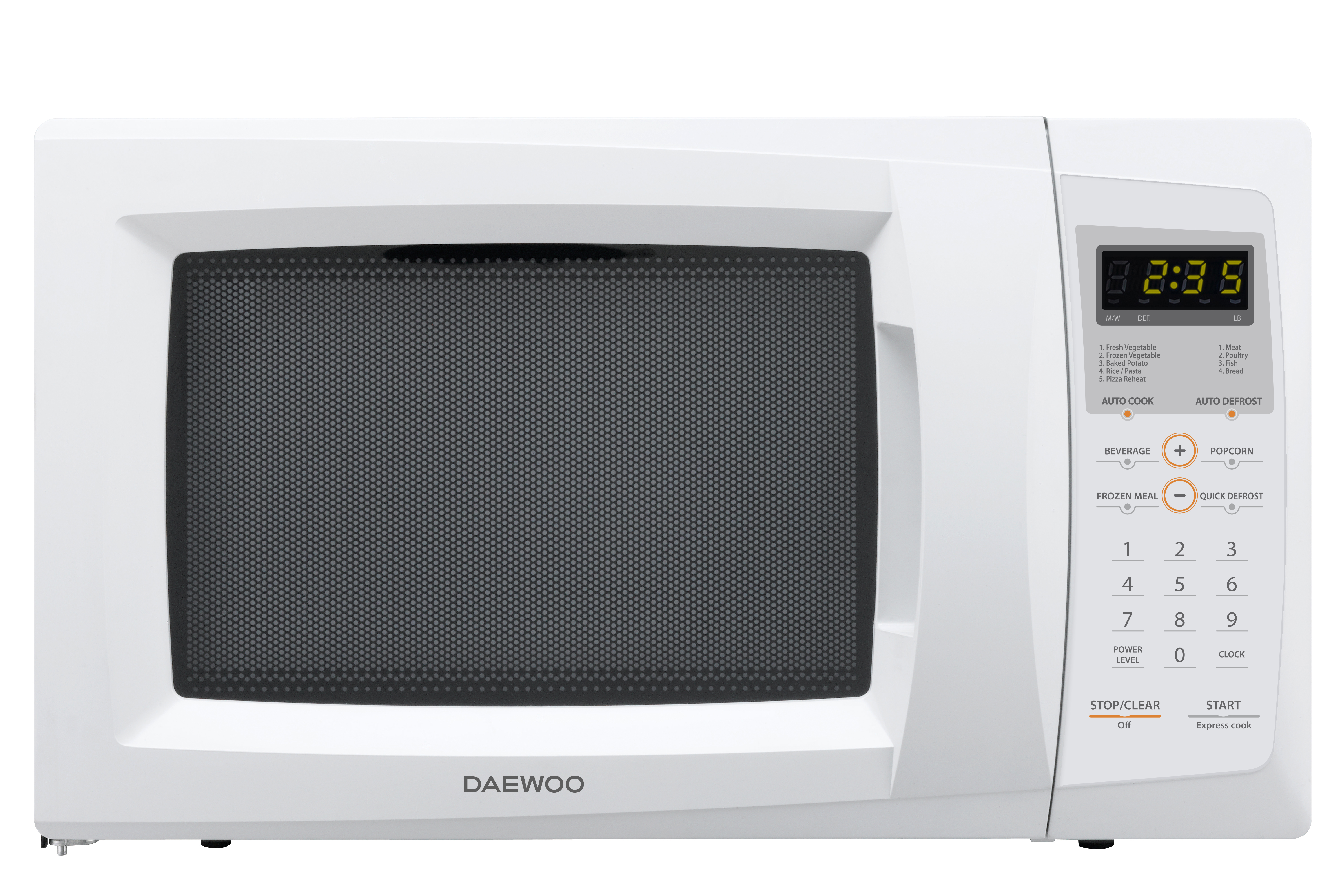 0.9 cu ft microwave oven