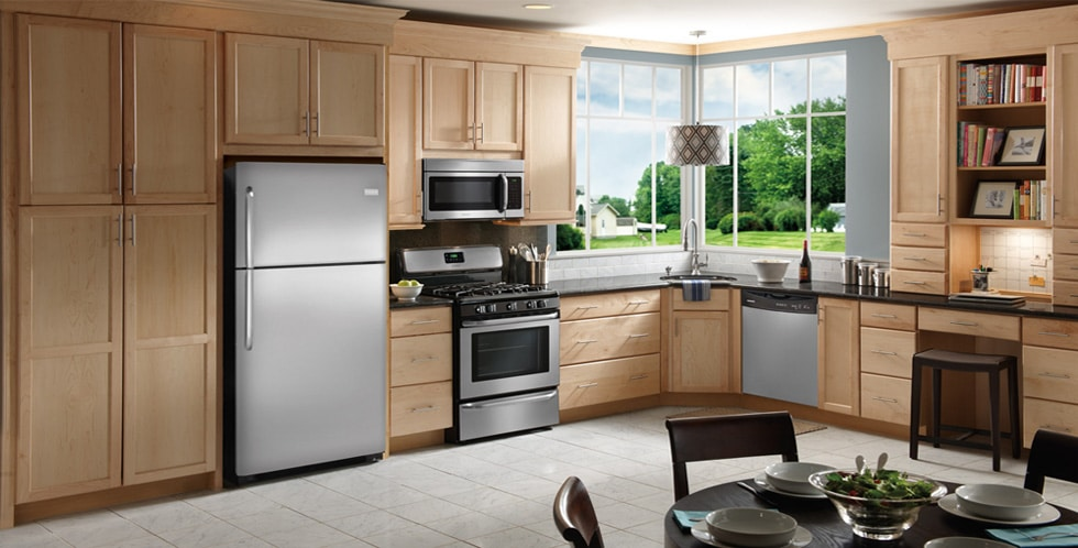 Stainless Frigidaire Kitchen